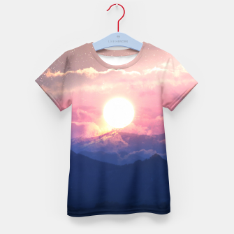Thumbnail image of Starry Sunsets Kid's t-shirt, Live Heroes