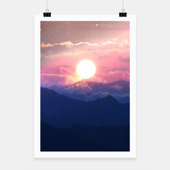 Thumbnail image of Starry Sunsets Poster, Live Heroes