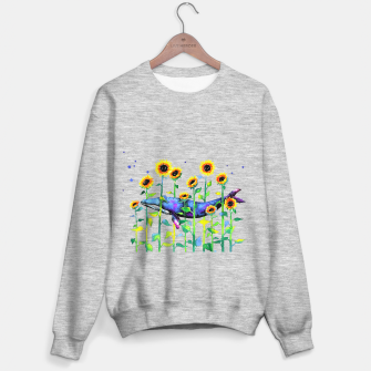 Thumbnail image of wandering whale Sweater regular, Live Heroes