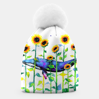 Thumbnail image of wandering whale Beanie, Live Heroes