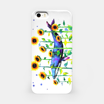 Thumbnail image of wandering whale iPhone Case, Live Heroes