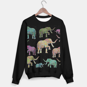 Thumbnail image of elephant Sweater regular, Live Heroes