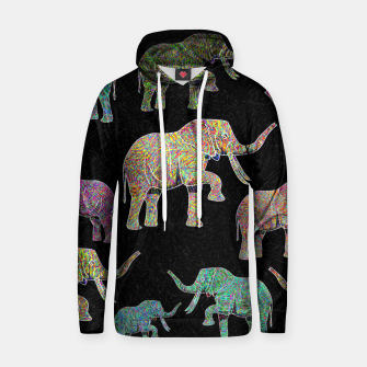 Thumbnail image of elephant Hoodie, Live Heroes