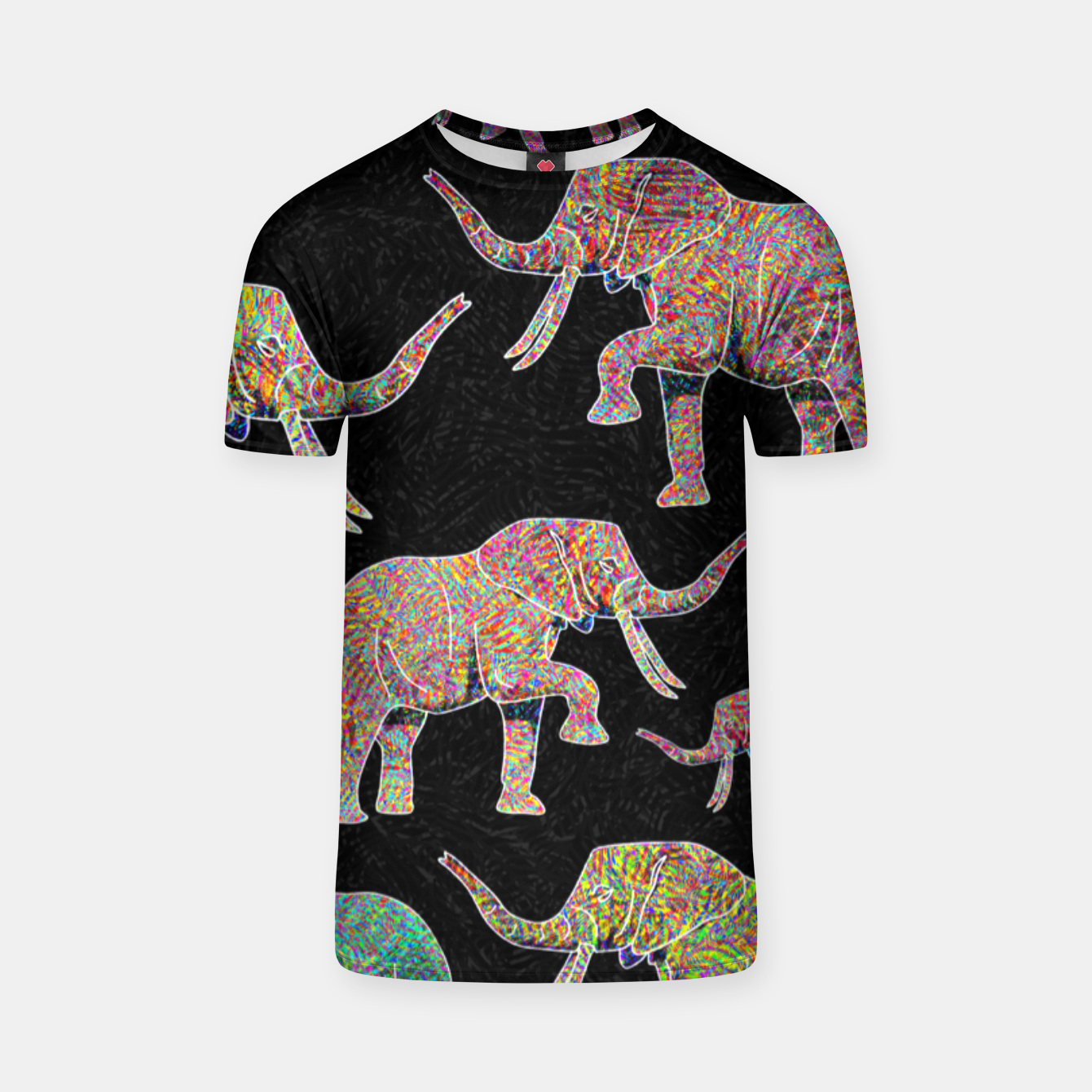 Image of elephant T-shirt - Live Heroes
