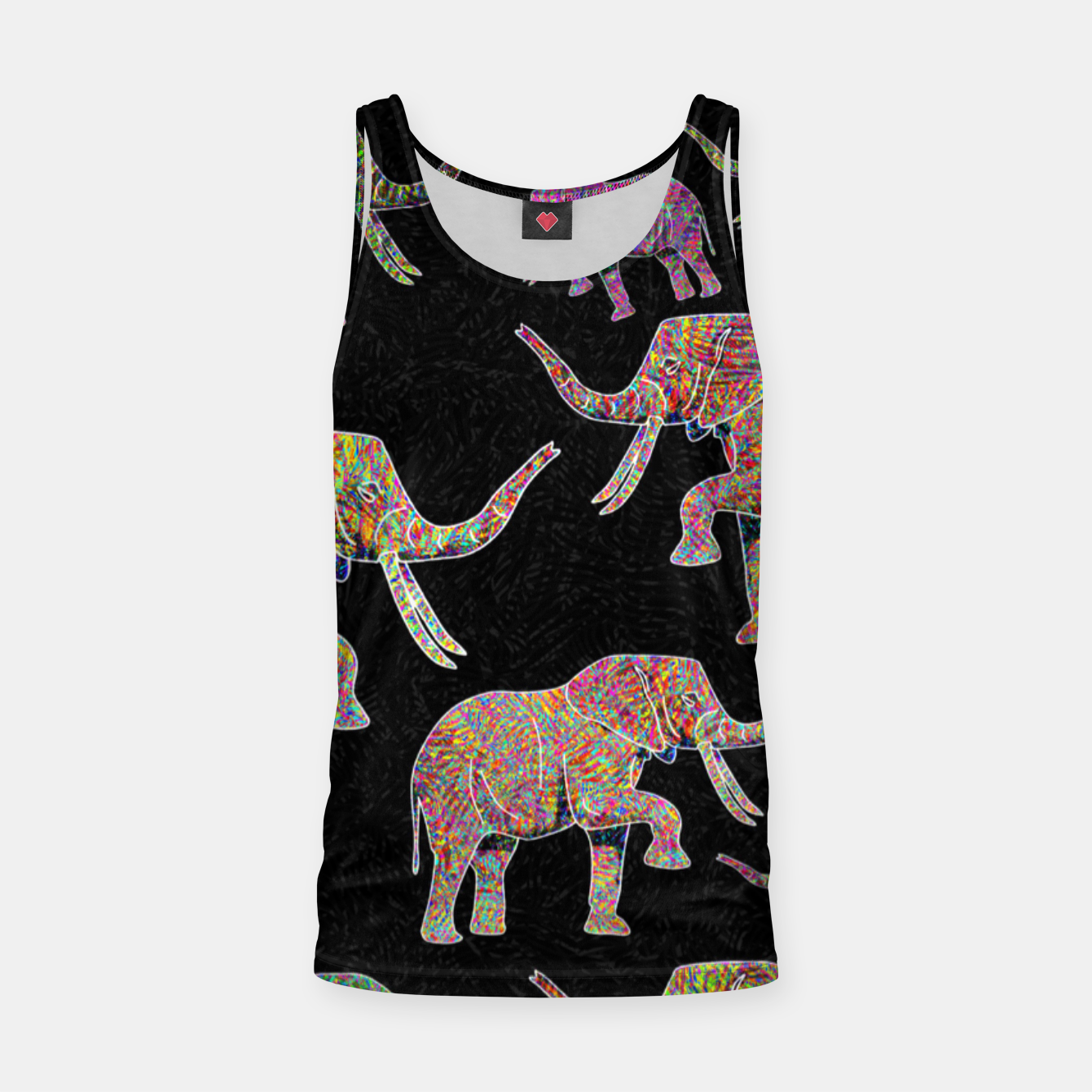 Image of elephant Tank Top - Live Heroes
