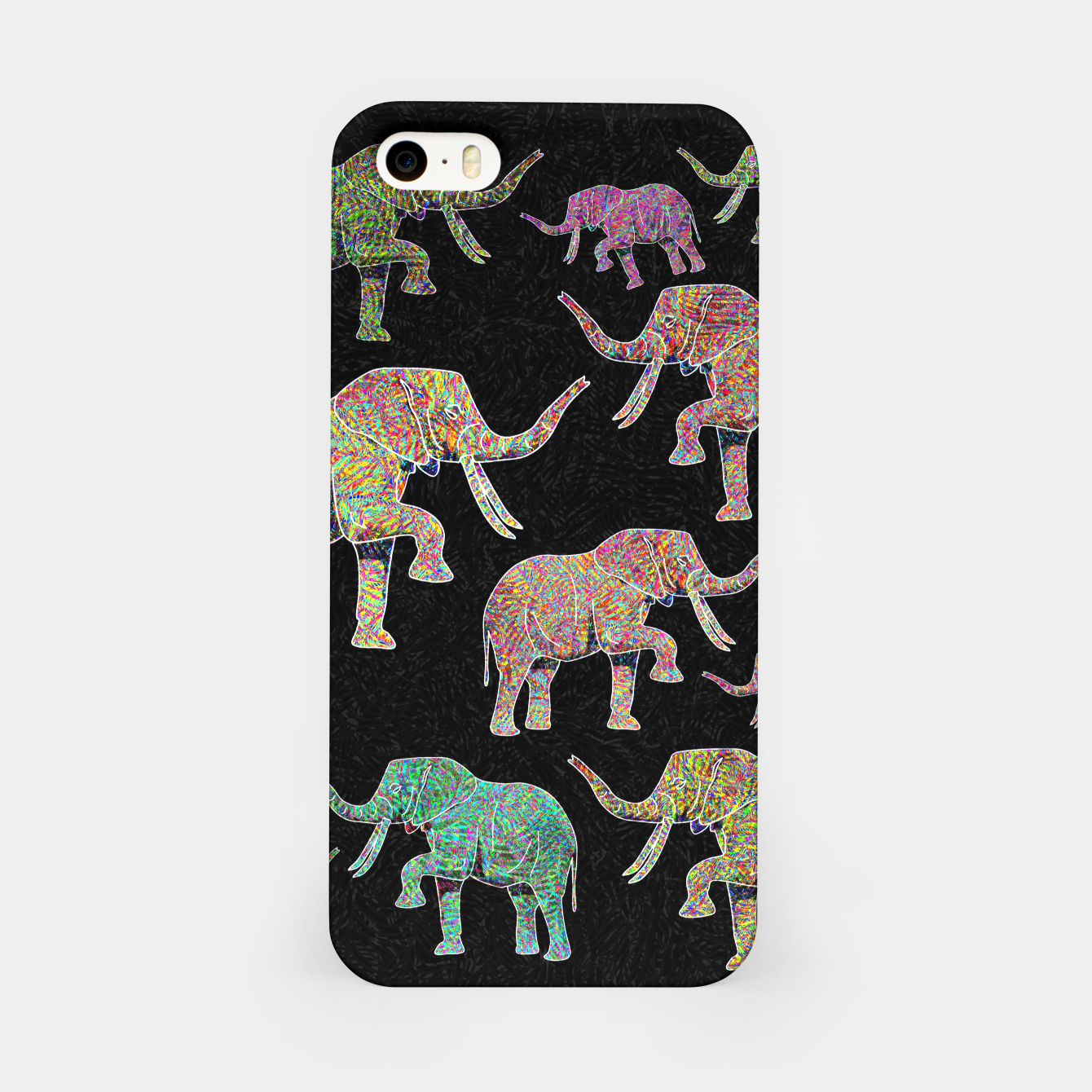 Image of elephant iPhone Case - Live Heroes