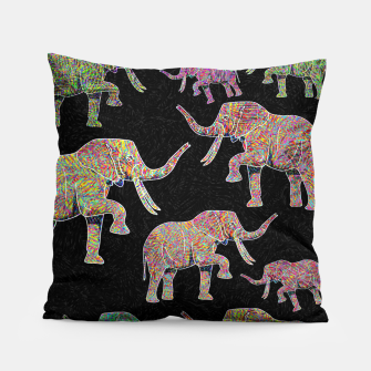 Thumbnail image of elephant Pillow, Live Heroes
