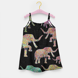 elephant Girl's dress thumbnail image