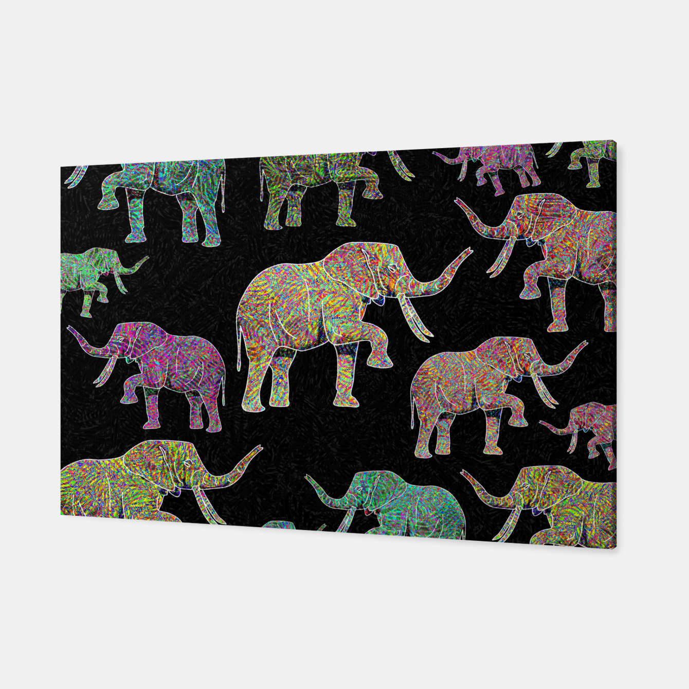 Image of elephant Canvas - Live Heroes