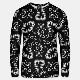 Thumbnail image of Dark Modern Abstract Pattern Unisex sweater, Live Heroes