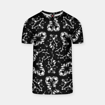 Thumbnail image of Dark Modern Abstract Pattern T-shirt, Live Heroes