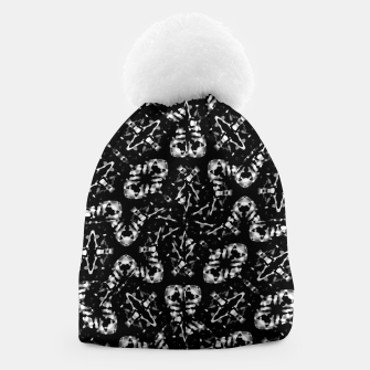 Thumbnail image of Dark Modern Abstract Pattern Beanie, Live Heroes