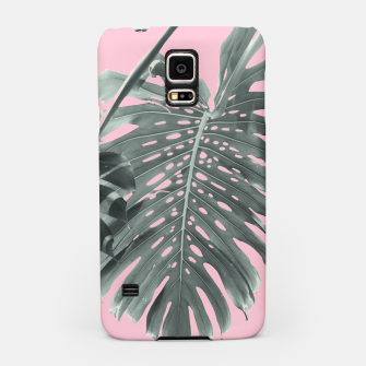 Miniatur Monstera Finesse #1 #tropical #decor #art Handyhülle für Samsung, Live Heroes