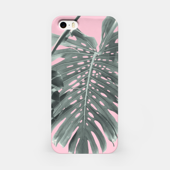 Thumbnail image of Monstera Finesse #1 #tropical #decor #art iPhone-Hülle, Live Heroes