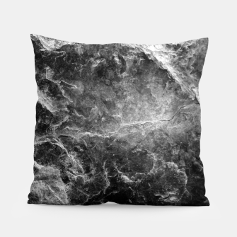 Thumbnail image of Enigmatic Black Marble #1 #decor #art Kissen, Live Heroes
