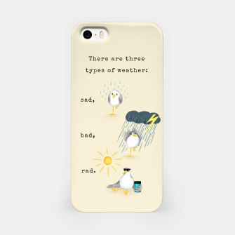 Thumbnail image of Three Types of Weather iPhone Case, Live Heroes