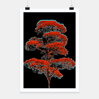 Thumbnail image of Tree Artwork Illustration Poster, Live Heroes