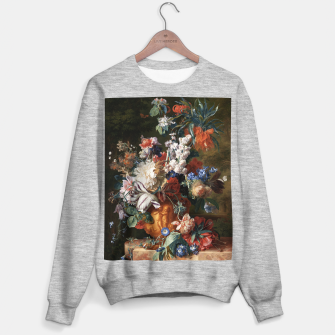 Miniaturka Bouquet Of Flowers In An Urn by Jan van Huysum Sweater regular, Live Heroes