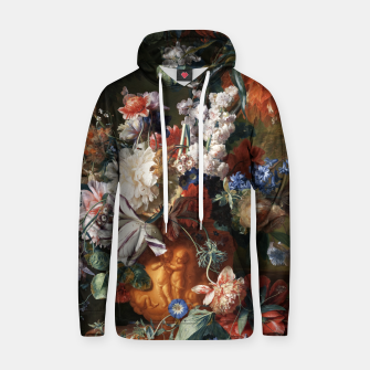 Miniaturka Bouquet Of Flowers In An Urn by Jan van Huysum Hoodie, Live Heroes
