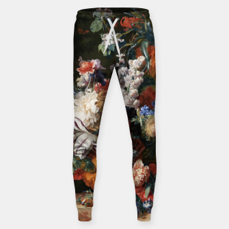 Miniaturka Bouquet Of Flowers In An Urn by Jan van Huysum Sweatpants, Live Heroes