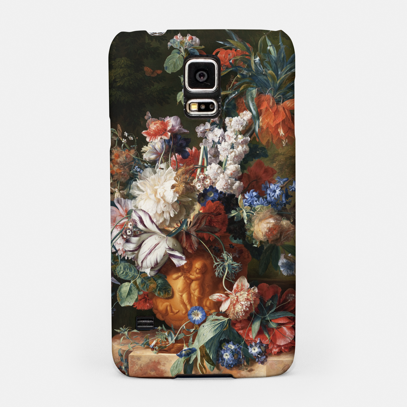 Zdjęcie Bouquet Of Flowers In An Urn by Jan van Huysum Samsung Case - Live Heroes
