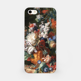 Miniaturka Bouquet Of Flowers In An Urn by Jan van Huysum iPhone Case, Live Heroes