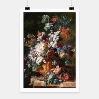 Miniaturka Bouquet Of Flowers In An Urn by Jan van Huysum Poster, Live Heroes