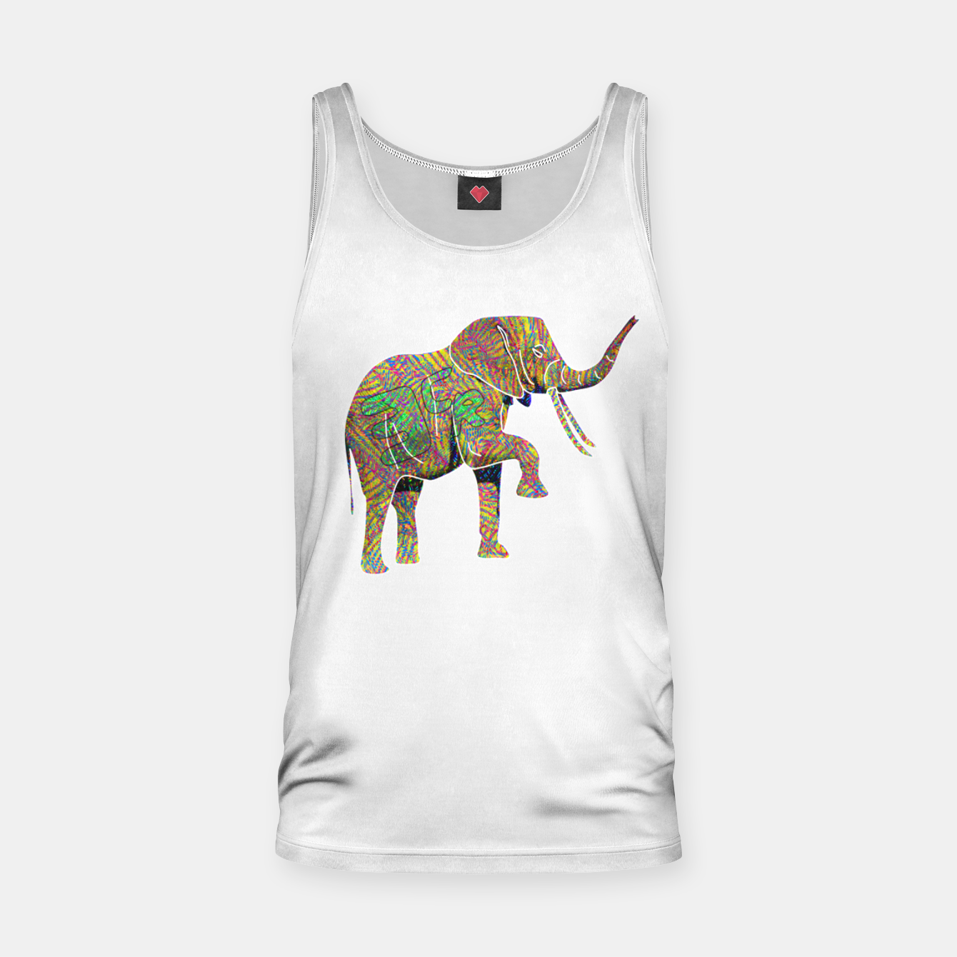 Image of 3cr Tank Top - Live Heroes