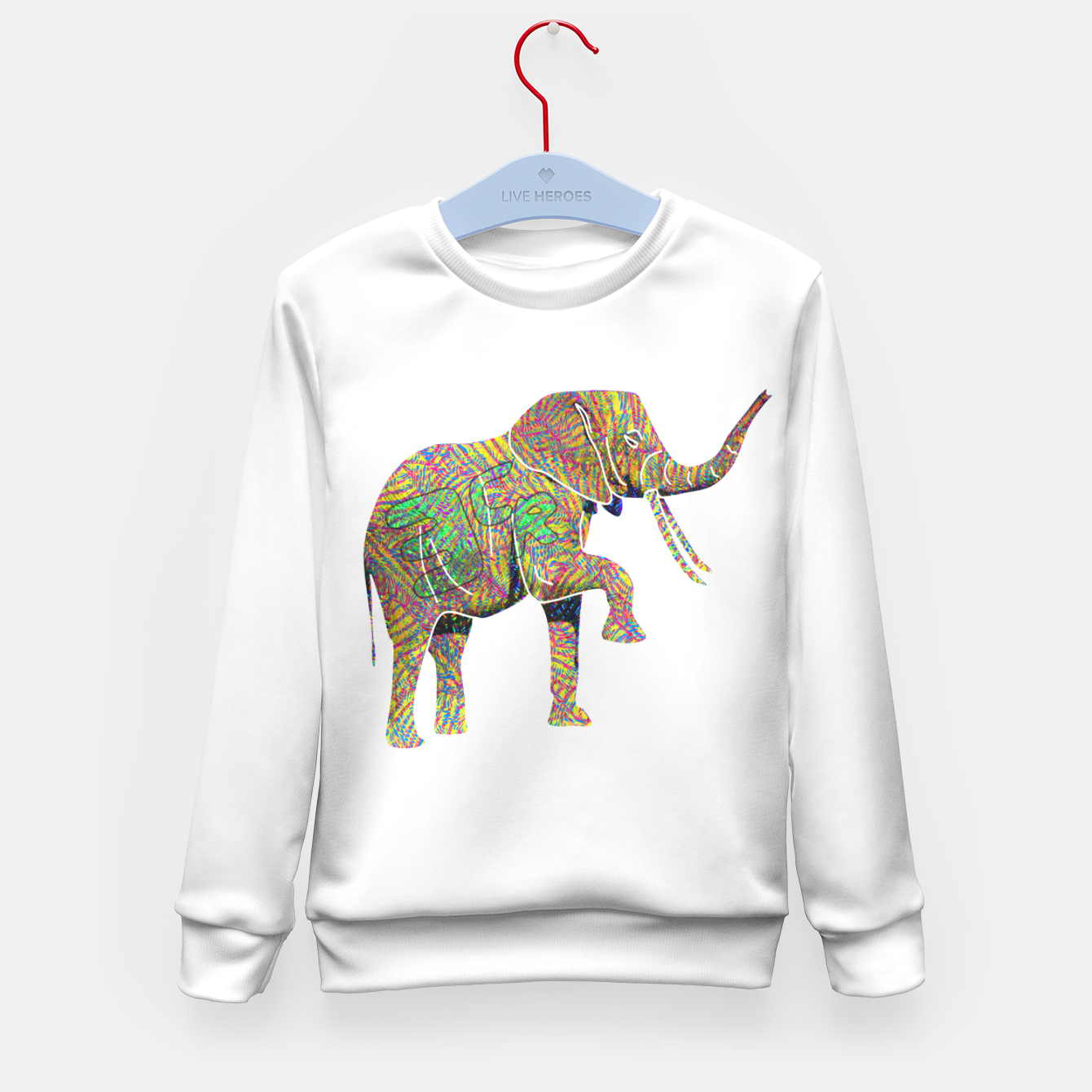 Image of 3cr Kid's sweater - Live Heroes