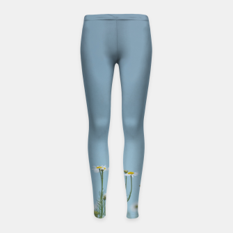 Thumbnail image of Daisies by the lake Girl's leggings, Live Heroes