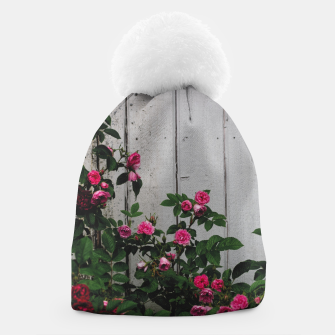 Miniatur By the wall Beanie, Live Heroes