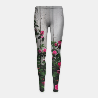Miniatur By the wall Girl's leggings, Live Heroes
