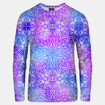 Thumbnail image of Colorful silver mandala Unisex sweater, Live Heroes