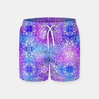 Thumbnail image of Colorful silver mandala Swim Shorts, Live Heroes