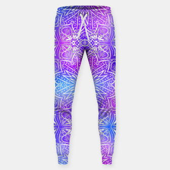 Thumbnail image of Colorful silver mandala Sweatpants, Live Heroes