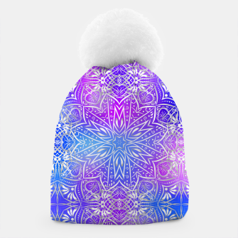 Thumbnail image of Colorful silver mandala Beanie, Live Heroes