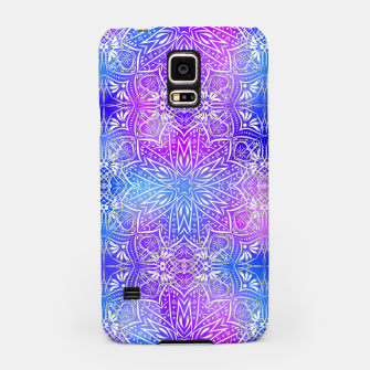 Thumbnail image of Colorful silver mandala Samsung Case, Live Heroes