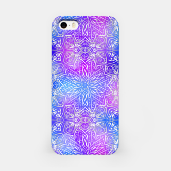 Thumbnail image of Colorful silver mandala iPhone Case, Live Heroes