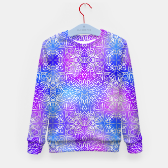 Thumbnail image of Colorful silver mandala Kid's sweater, Live Heroes