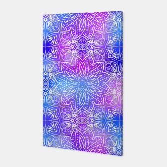 Thumbnail image of Colorful silver mandala Canvas, Live Heroes