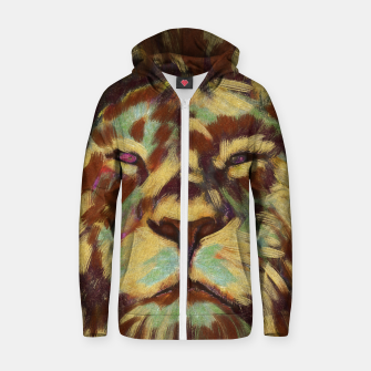Miniatur Lion king Zip up hoodie, Live Heroes