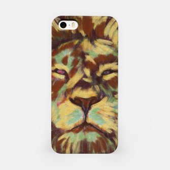 Miniatur Lion king iPhone Case, Live Heroes