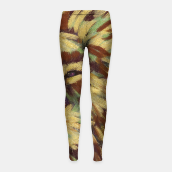 Miniatur Lion king Girl's leggings, Live Heroes