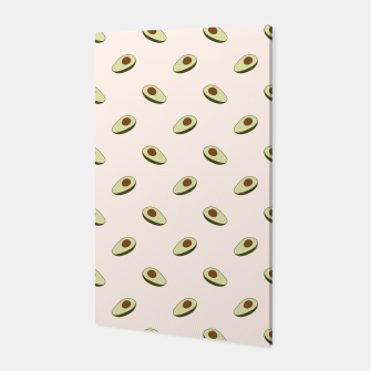 Miniaturka Avocado Pattern Canvas, Live Heroes