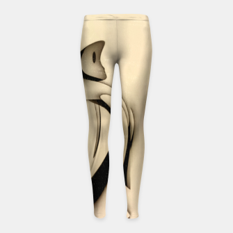 Miniatur Last Tango In Paris Girl's leggings, Live Heroes