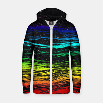 Thumbnail image of Rainbow Wave Hoodie, Live Heroes