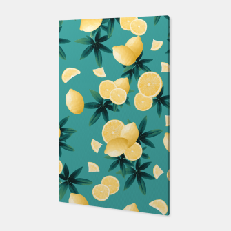 Miniature de image de Lemon Twist Vibes #6 #tropical #fruit #decor #art  Canvas, Live Heroes