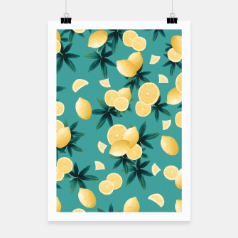Miniaturka Lemon Twist Vibes #6 #tropical #fruit #decor #art  Plakat, Live Heroes
