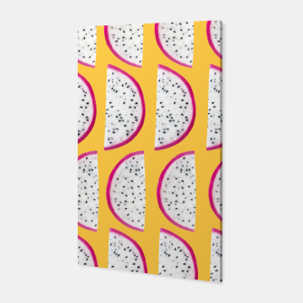 Miniaturka Dragon Fruit Summer Vibes Pattern #3 #fruity #decor #art Canvas, Live Heroes