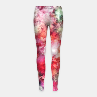 Thumbnail image of Blush Girl's leggings, Live Heroes